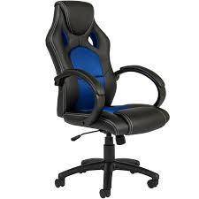 executive racing gaming office chair pu leather swivel computer desk seat high back com