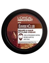 Beard And Hair Style barber club hair & beard styling cream loral paris 3536 by stevesalt.us
