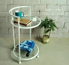 get ations small round glass coffee table modern minimalist sofa side a few corner a few phone a