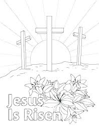 Printable Religious Coloring Pages Free Printable Religious Easter