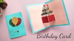 Card Bday Diy Pop Up Birthday Card Card Making Handmade Card