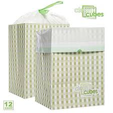 disposable trash cans. Modren Trash Clean Cubes 12 Count Disposable Trash Cans And Recycling Bins For Home  Office With Liner Bags P
