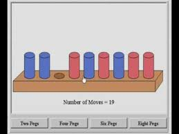 Wooden Peg Games All four peg puzzles on NLVM YouTube 53