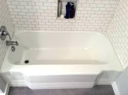 cast iron bathtubs refinishing how to refinish a cast iron tub large size of iron tub
