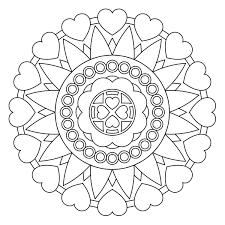 heart mandalas coloring book free printable mandala coloring pages patterns printables on mandalas coloring book easter