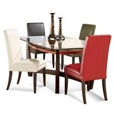 glass top dining room tables rectangular for more elegant dining room inspiring small dining room