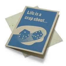 movements elephant greeting card life s a crap shoot precious movements elephant greeting card life s a crap shoot