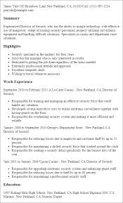 casino manager resumes 1 director of security resume templates try them now
