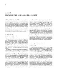 Astm Standards For Concrete Mix Design Chapter 5 Testing Of Fresh And Hardened Concrete