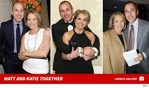 Image result for matt lauer hugging katie couric