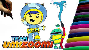Team Umizoomi Fireman Bot And Geo