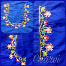 Facebook Embroidery Designs Facebook Charvicollection Embroidery Neck Designs Simple
