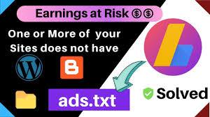 how to solve adsense ads txt error how to fix adsense ads txt problem in ger wordpress wordpress tutorials