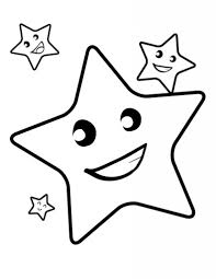 Small Picture Free Printable Star Coloring Pages For Kids with regard to