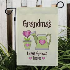 personalized love grows here garden flag personalized gifts for grandma