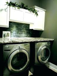 counter laundry room countertop diy over washer and dryer ideas height