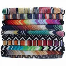 missoni home towels giao 160 stacked