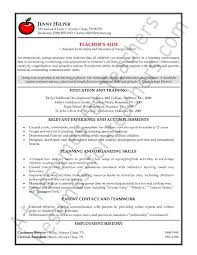 teachers resumes examples teacher resume examples preschool teacher resume sample jobsxs com