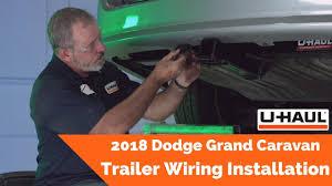 2018 dodge grand caravan trailer wiring installation