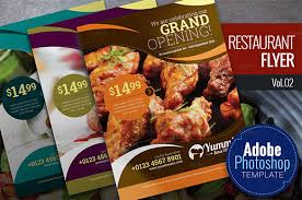 Now Open Flyer Template 72 Restaurant Flyer Templates Word Pdf Psd Eps