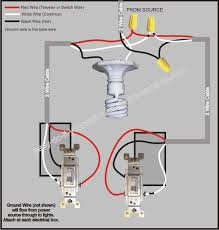 3 way switch wiring diagram diy pinterest Electrical Wiring Electrical Wiring #72 electrical wiring residential