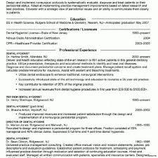 Dentist Resume Dental Assistant Objective For Resume Student Entry Level Template 94