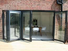 aluminium bi folding sliding doors