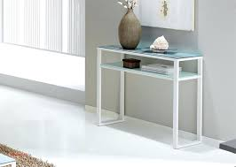 small white hall table white glass top console table lovely stylish narrow white console table with