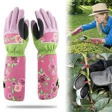 long sleeve gardening gloves thorn