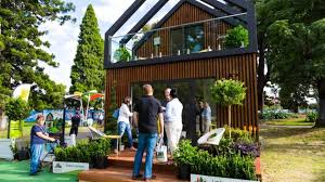 tiny houses for sale. Outside Of A Tiny House For Sale In Melbourne Houses