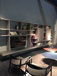 tv wall unit with shelves and spaces for sstorage