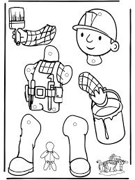 Bob De Bouwer Trekpop Cartoane Bob The Builder Bob En Puppet Crafts