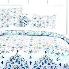 fl duvet cover twin guys bedding organic ocean blue multi monikka flowery covers red poppy flo
