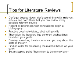 Literature Review Example Apa Examples Of Literature Reviews In Apa Best And Reasonably