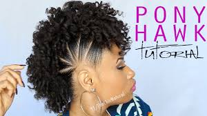 Mo Hock Hair Style the pony hawk natural hairstyle youtube 3587 by stevesalt.us