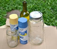 Decorating Mason Jars For Drinking A Simple StepbyStep DIY Guide To SprayPainting Mason Jars 57