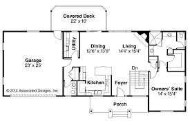 ranch house plan gatsby 30 664 first floor plan