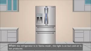 Samsung Fridge Light Off How To Deactivate Demo Mode In Samsung Refrigerator