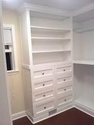 custom built in closet future house plans decor inspiration of diy built in closet