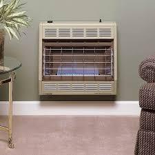 empire 30 000 btu blue flame vent free propane heater 30lp gas log guys