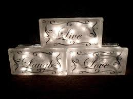 how to decorate glass blocks lovely pin by pixie swearengin on