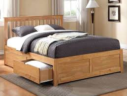 king bed frame wood. King Size Bed Frames Wooden Frame With 4 Drawers Wood P