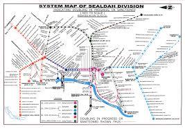 Indian Railway Route Chart Kolkata Suburban Local Train Route Map Kolkata Local Train