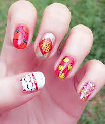 Chinese Nail Art Designs Chinesenewyear Yearofmonkey Nails Nailsart Nailart