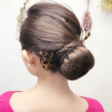 かんざしに似合うヘアスタイル ヘアスタイル頭美人