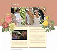 Free Wedding Website Templates Beauteous 48 Event Planning Website Themes Templates Free Premium Templates