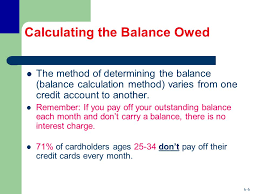 how credit cards interest calculated using credit cards the role of open credit ppt video online download
