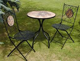 top lawn tables and chairs with china outdoor bistro mosaic table and chairs pl