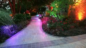 Color Changing Landscape Lights Landscape Lighting Project With Color Changing Themes