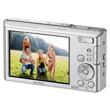sony digital camera. sony cybershot dscw830 20.1mp digital camera with case and 8gb memory card - silver